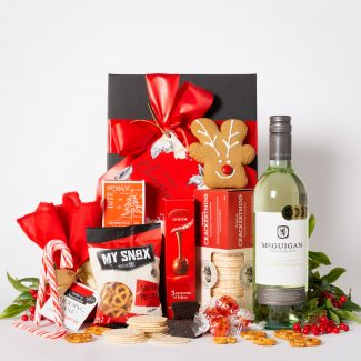 White Wine Festive Delight Hamper LR