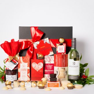 Christmas Sweet Delight Hamper with White